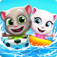 download Talking Tom Pool Apk Mod chaves , vidas e dinheiro infinito