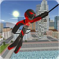 Stickman Rope Hero Apk Mod