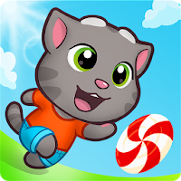 download Talking Tom Candy Run Apk Mod unlimited money