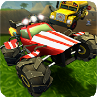 download Crash Drive 2 Racing 3D Game Apk Mod unlimited money