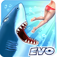 download Hungry Shark Evolution Apk Mod unlimited money
