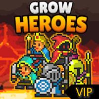 download Criando uma festa VIP - Grow Heroes Apk Mod dinheiro infinito