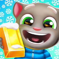 download Talking Tom Corrida do Ouro Apk Mod moedas infinita