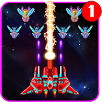 download Galaxy Attack Alien Shooter Apk Mod god mod e hit kill