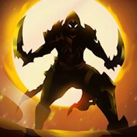 Lendas das Sombras Vingança Stickman Apk Mod ouro infinito