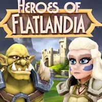 Heroes of Flatlandia Apk Mod gemas infinita