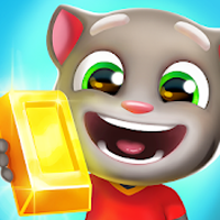 doiwnload Talking Tom Corrida do Ouro Apk Mod ouro infinito