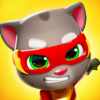 Talking Tom Hero Dash Apk Mod gemas infinita
