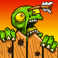 Zombie Ranch - batalha com zumbis Apk Mod god mod