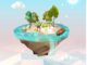 My Oasis - Tap Sky Island Apk Mod gemas infinita