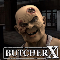 Butcher X - Scary Horror Game Apk Mod gemas infinita