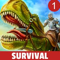 Jurassic Survival Island Dinosaurs & Craft Apk Mod gemas infinita